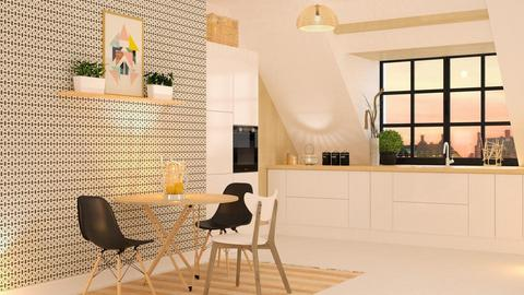 Scandinavian kitchen   - by sukica