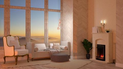Template Baywindow Room - Living room - by Twilight Tiger