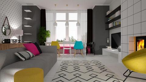 Template Baywindow Room - by rossella63