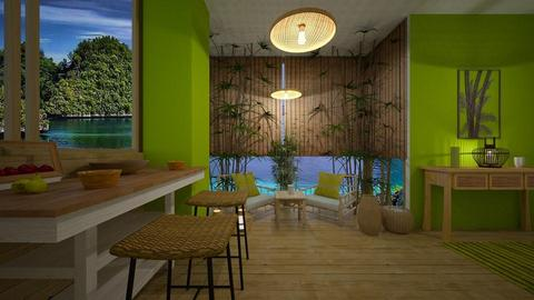 bamboo - Living room - by rasty