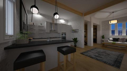 apartamento - Living room - by rasty