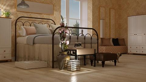 Magnolia_Bedroom - Bedroom - by ZuzanaDesign