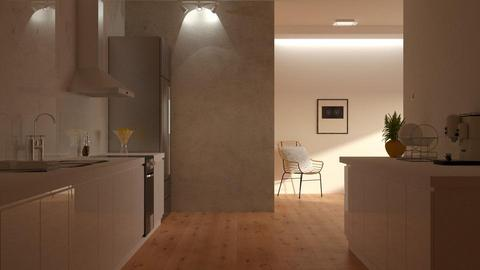 Clean Kitchen - Minimal - Kitchen - by DeborahArmelin