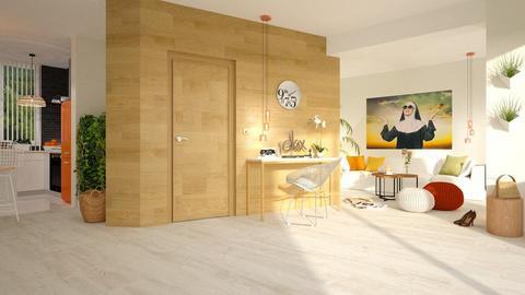 Living room and kitchen - by barnigondi