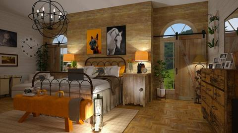 Must Love Horses - Bedroom - by decor_44