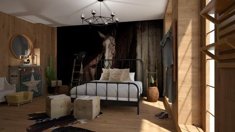 My_Horse - Bedroom - by ZuzanaDesign