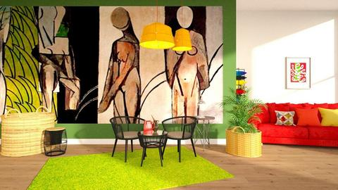 Matisse - Living room - by ZuzanaDesign
