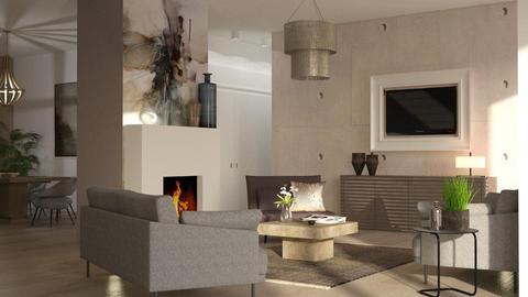 Marias lv - Living room - by jagwas