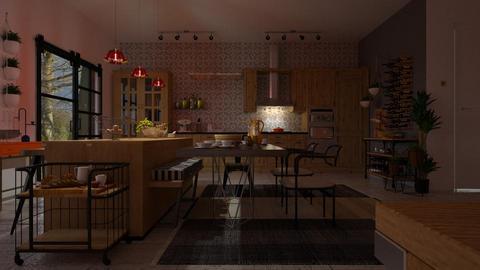 IP Artisan Kitchen - Rustic - Kitchen - by janip