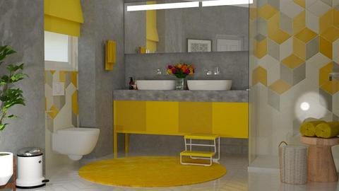 Yellow Bath - by meggle
