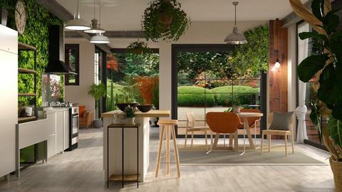Urban Jungle Kitchen - by randomglitter