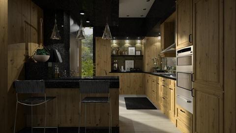IP Artisan Kitchen - Kitchen - by HarleyQuinn17