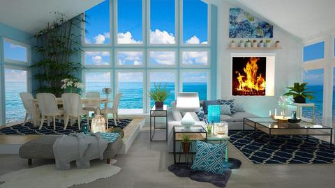 Summer  Remix - Modern - Living room - by NikolinaB26