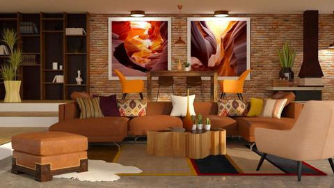 canyon pictures inspired - Living room - by jagwas