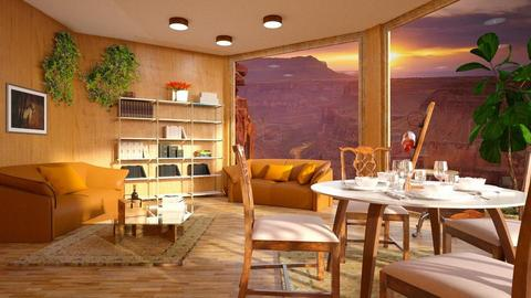 Grand_Canyon - Living room - by ZuzanaDesign