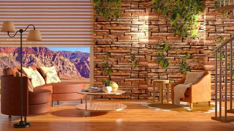 Canyon Inspired_LR - Living room - by JayPH