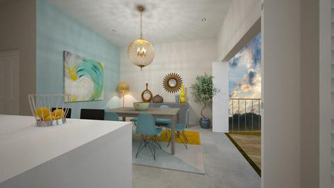 Mod Kitchen Balcony - Kitchen - by Sanja S