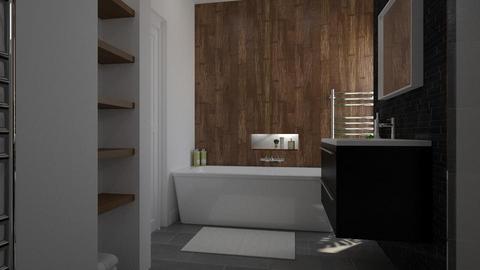 64 Crown Road - Bathroom - by CAD Service UK