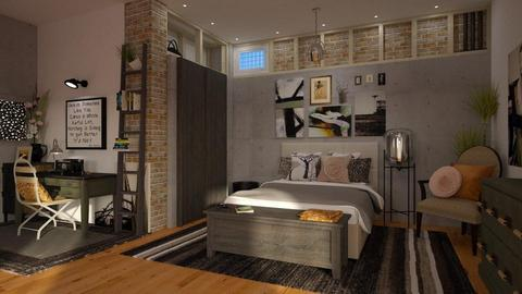 IP Diego - Eclectic - Bedroom - by starsector