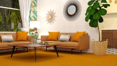 Orange Carpet - Living room - by deleted_1568398558_decor_44
