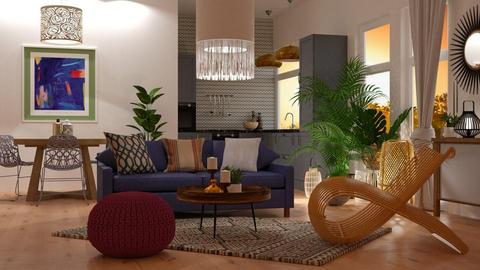 Boho - Living room - by jagwas