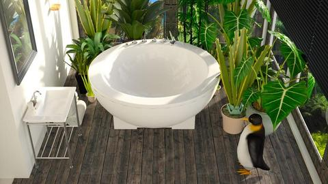 Penguin - Bathroom - by ZuzanaDesign