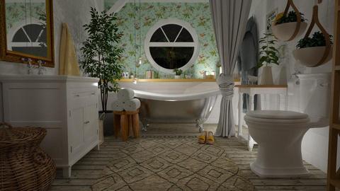 Bird bath - Bathroom - by aniachoynowska