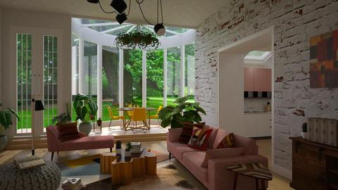 _Boemio_ - Living room - by Brubs Schmitt
