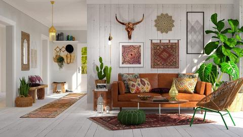 boho style - Eclectic - Living room - by Valkhan