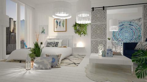 boho bedroom - by anjaam