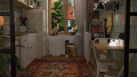 Boho Kitchen - by meggle