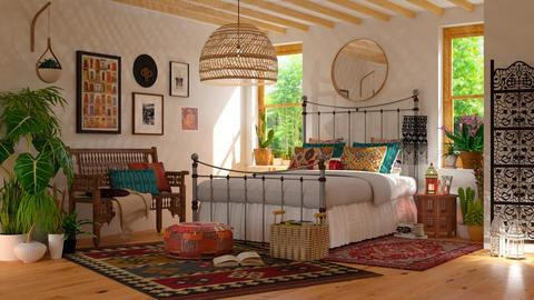 Bohemian Bedroom - Eclectic - Bedroom - by Valkhan