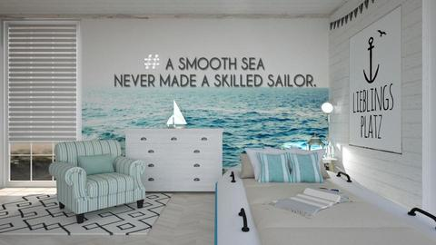 Nautical Bedroom - Bedroom - by KimAlys