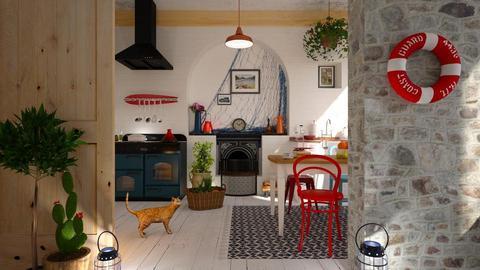 coastal kitchen - by barnigondi