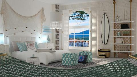Nautical Bedroom - by ariema