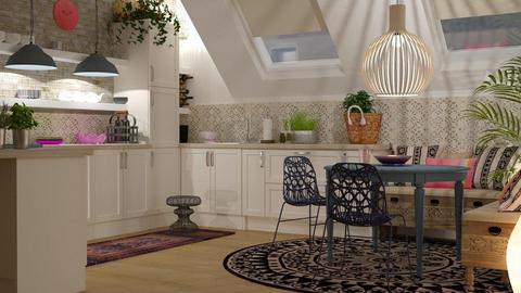 Boho kitchen - Kitchen - by jagwas