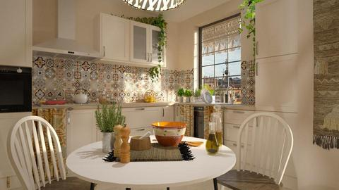Bohemian Kitchen - Kitchen - by Mandine
