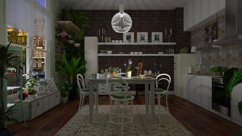 Bohemian Kitchen - Modern - Kitchen - by janip
