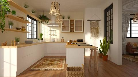Boho Kitchen - by ariema