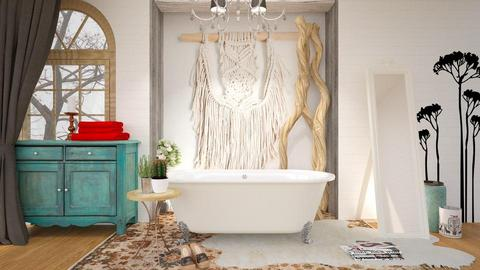 Boho Bathroom - Bathroom - by KimAlys