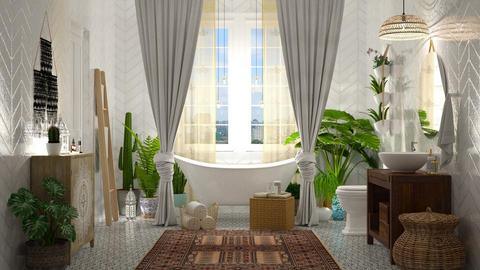 Bohemian Bathroom - Bathroom - by DeborahArmelin