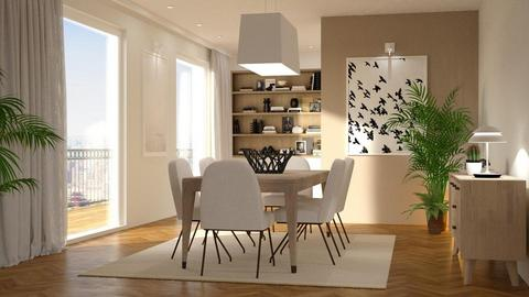 Room - Modern - Dining room - by Valkhan