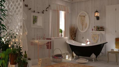 boho bath - by barnigondi
