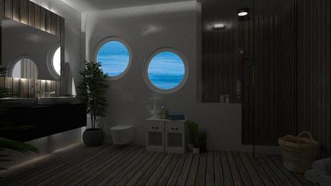 nautical bath - Bathroom - by anjaam