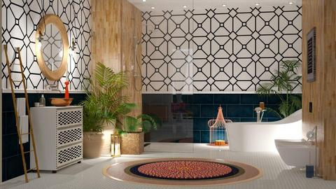 Touch of boho - Modern - Bathroom - by jagwas