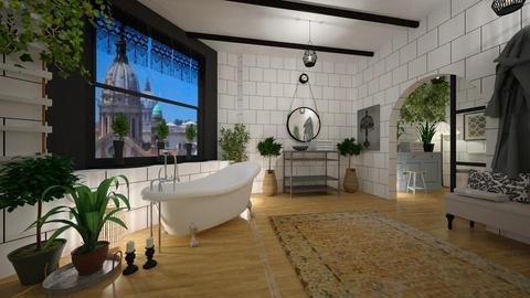 BOHO BATH - Bathroom - by rasty