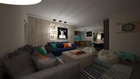 ALDRED 1 - Living room - by louisdhe