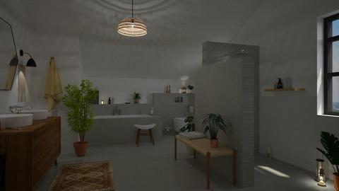 Boho Chic Bathroom - Bathroom - by marleinxs