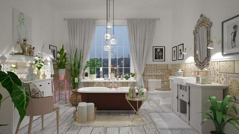 Bohemian Bathroom - Modern - Bathroom - by janip