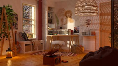 Bohemian Office - Eclectic - Office - by Mandine